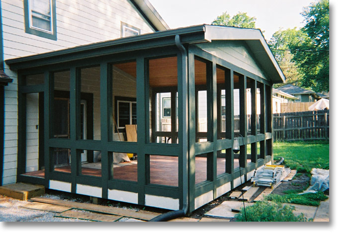 17 spectacular enclosed porch plans architecture plans for Enclosed porch plans free